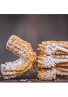 Krumiri vanilla cocoa viennesi biscuits